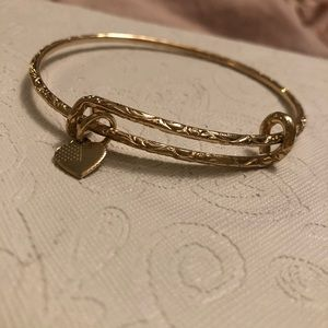 Retired Limited Edition Alex and Ani Shiny Gold